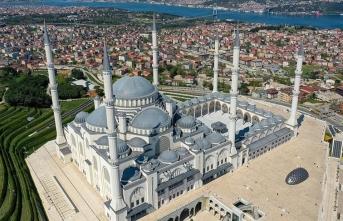 Asrın mührü 'Büyük Çamlıca Camisi'nin ziyaretçi sayısı belli oldu!