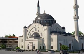 Avrupa'nın en büyük camisinin inşası için yardım kampanyası