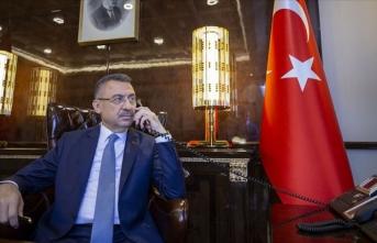 Cumhurbaşkanı Yardımcısı Oktay Yozgat'taki çiftçilerle telefonla görüştü