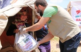 İHH'dan 3 bin 500 aileye gıda kolisi yardımı