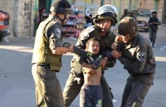 İşgalci İsrail zulmü sürüyor: Bir çocuğu şehit ettiler!