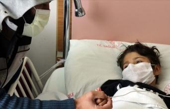 Kalp hastası Suriyeli küçük Rabi Türkiye'de şifa bulacak