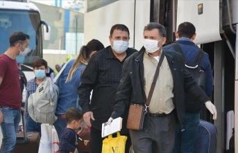 Karantina sürecini tamamlayan vatandaşlar Türkiye'ye minnettar
