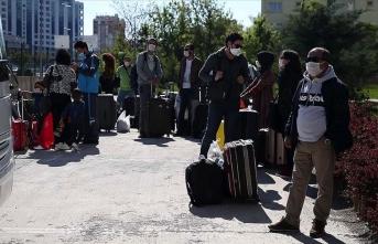 Kayseri'de karantina süreleri dolan 233 kişi evlerine gönderildi