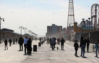 New York'taki Kovid-19 ölümleri '27 Mart'tan bu yana en düşük seviyeyi' gördü