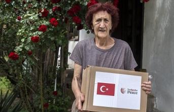 TİKA'dan Bosna Hersek'teki 1000 aileye gıda ve hijyen malzemesi yardımı