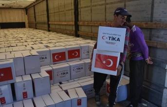 TİKA'dan Irak'ta 5 bin aileye ramazanda gıda yardımı