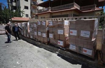 TİKA'dan, Şeria'nın batısı ve Kudüs'te 7 bin 500 aileye ramazan yardımı