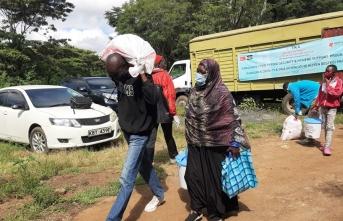 TİKA Kenya'da yetim ve mültecilerin yüzünü güldürdü