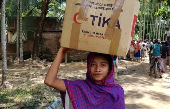 TİKA'dan Bangladeş'in Chakaria bölgesine Ramazan yardımı