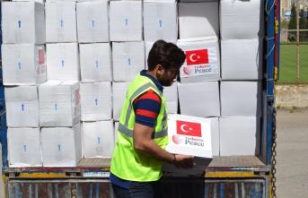 TİKA'dan Lübnan'da 1.000 aileye Ramazan yardımı