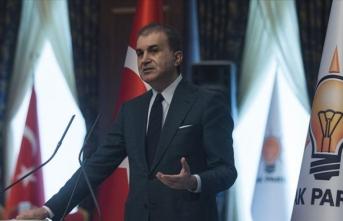 AK Parti Sözcüsü Çelik'ten Fransa Cumhurbaşkanı Macron'a eleştiri