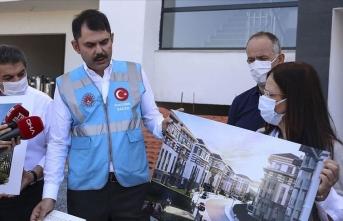 Bakan Kurum: Sahada fiilen 116 bin konutun dönüşümünü gerçekleştiriyoruz