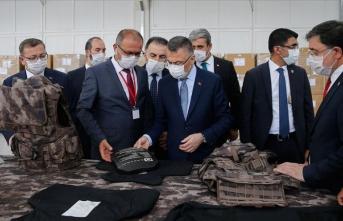 Cumhurbaşkanı Yardımcısı Oktay Yozgat organize sanayi bölgesindeki fabrikaları gezdi
