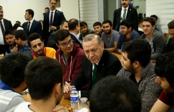 Cumhurbaşkanı Erdoğan gençlerle buluşacak