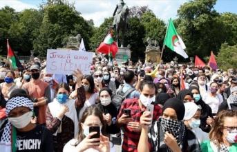 İsrail'in 'ilhak' planı Belçika'da protesto edildi