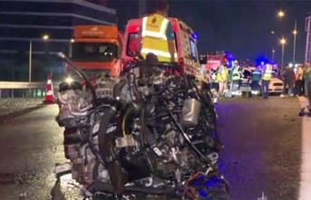 İstanbul'da feci kaza: 1 ölü, 2 yaralı