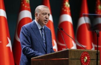 Cumhurbaşkanı Erdoğan: Ülkemizi risk grubundan uzaklaştırmakta kararlıyız