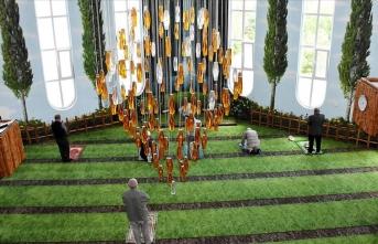 'Şelaleli cami' normalleşme sürecinde ziyaretçilerini ağırlıyor