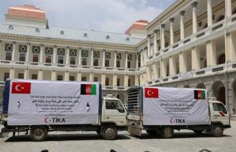 TİKA'dan Afganistan'a Kovid19 yardımı