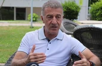 Trabzonspor Başkanı Ağaoğlu sakinleşti