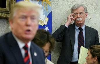 Trump'tan eski danışmanı Bolton'a ağır hakaretler!