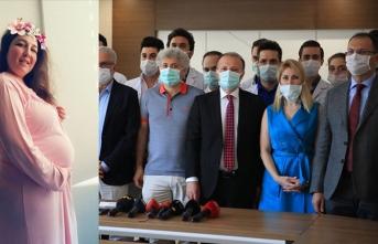 Türkiye'de yapılan dünyanın ilk başarılırahim naklinde mutlu son