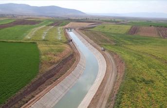 72 bin 650 dekar alan suyla buluşacak