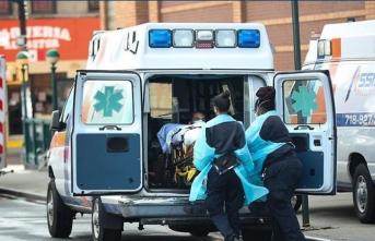 ABD'de son 24 saatte 1092 ölüm daha