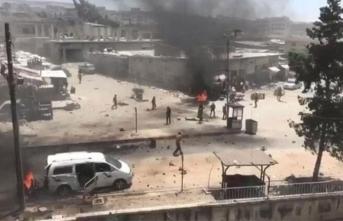 Afrin'de teröristlerden hain saldırı! Onlarca yaralı