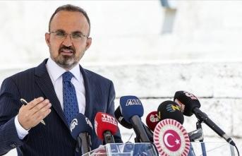 AK Parti Grup Başkanvekili Turan: Baro başkanları kimliklerini ibraz ederek Meclise girecek