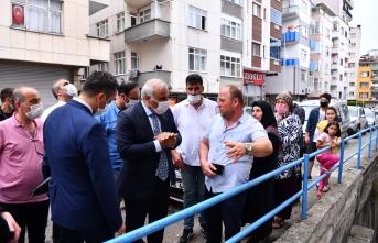 Başkan Zorluoğlu'ndan geçmiş olsun ziyareti