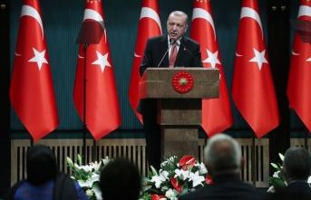 Cumhurbaşkanı Erdoğan: Bir milletin adeta yeniden doğuşuna şahitlik ediyoruz