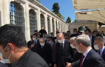 Cumhurbaşkanı Erdoğan'dan Ayasofya sonrası sürpriz ziyaret!