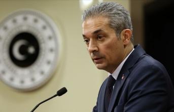 Dışişleri Sözcüsü Aksoy'dan ABD'nin GKRY'yi askeri eğitim programına dahil etmesine tepki