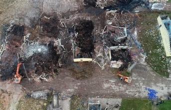 Hendek'teki patlama bölgesinde iş müfettişleri görevlendirildi