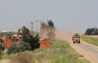 İdlib'de 20'nci Türk-Rus Birleşik Kara Devriyesi icra edildi