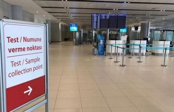 İstanbul Havalimanı'nda kaç yolcuya korona testi yapıldı?