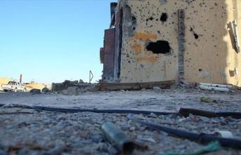 Libya'da Hafter'den kurtarılan bölgede yanmış bir ceset bulundu