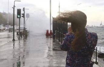 Meteoroloji'den şiddetli yağış ve fırtına uyarısı!
