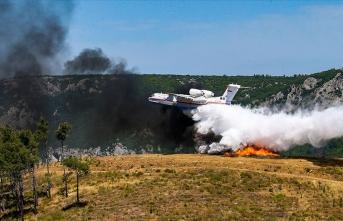 Orman yangınlarına ilk müdahale süresinde hedef belirlendi!