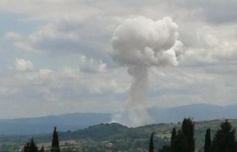 Sakarya'da şiddetli bir patlama daha: 3 şehit 6 yaralı