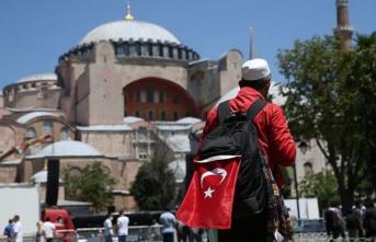 Ayasofya Camii'nin açılışında Türk Kızılay da alandaki yerini alacak