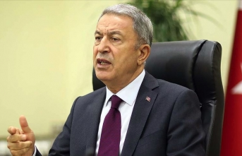 Bakan Akar: TSK vatanımızı korumakta azimlidir, kararlıdır, buna muktedirdir