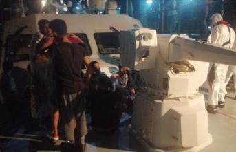 Datça'da 19 göçmen kurtarıldı