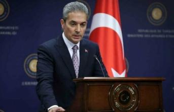 Dışişleri Bakanlığı: AB itidal çağrılarını Yunanistan ve GKRY'ye yapmalı