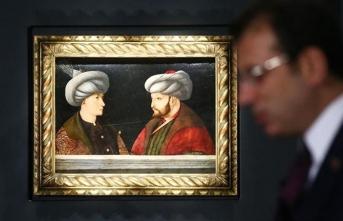 Fatih Sultan Mehmet'in portresi İBB'de