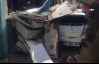 İstanbul Arnavutköy'de şiddetli patlama