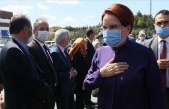 İYİ Parti Genel Başkanı Akşener: Gazın Türkiye'ye getireceği fayda gibi her konuda elbette çok memnun oluruz
