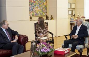 Kılıçdaroğlu, AB Türkiye Delegasyonu Başkanı Berger'i kabul etti